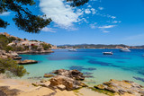 Fototapety Cala Fornells View in Paguera, Majorca
