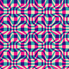 Seamless abstract vintage color pattern