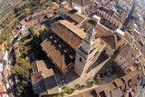 Albaida City from the air