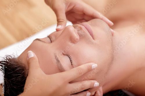 canvas print picture massage