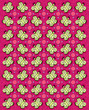 Butterfly Tablecloth Pink