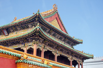 Forbidden city Beijing Shenyang Imperial Palace China