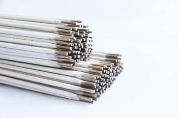 welding electrodes closeup