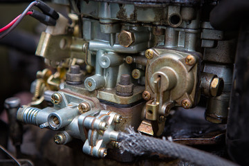 Dirty carburetor