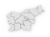 Map of Slovenia