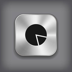 Diagram icon - metal app button