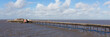 Panorama of Birnbeck pier Weston-super-Mare England