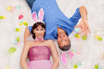 easter couple