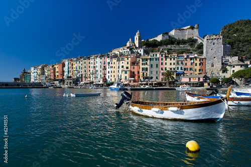 Colorful Houses in Portovenere