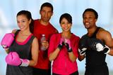 Fototapety Group Boxing