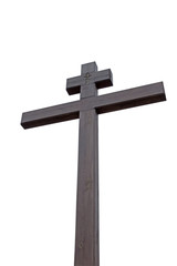 high wooden cross
