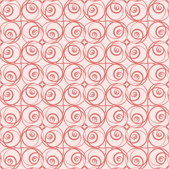 graphically floral pattern for the holidays