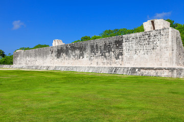 Great Ball Court of Chichen Itza, Mexico