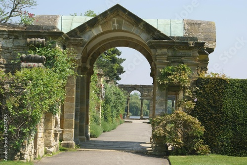 archway, Hever castle garden, Kent, England