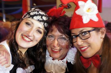 Karnevalsfeier im Rheinland