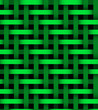 Abstract green  lines on background