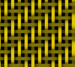 Abstract yellow lines on background