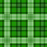 Green tartan texture. Vector seamless pattern.
