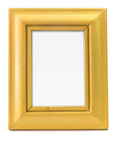 Yellow picture frame