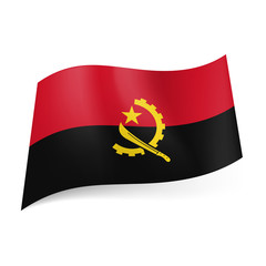 State flag of Angola