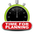 TIME FOR PLANNING ICON