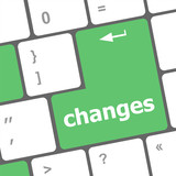 changes words on keyboard keys