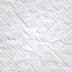 Vector crumpled  paper with stripes