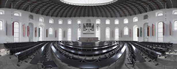 Frankfurt Paulskirche Innenaufnahme