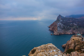 Bay of Balaclava, vicinity of Sevastopol, Crimea.