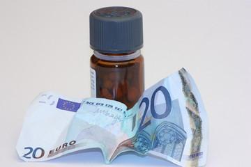 flacone medicina costoso