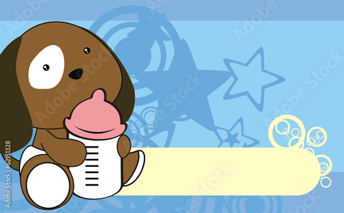 puppie baby cartoon wallpaper