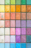 Makeup colorful eyeshadow palettes