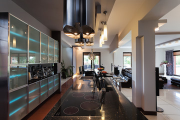 Galaxy kitchen interior