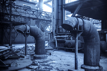 Old steel mill
