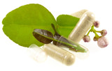 concept phytothérapie, la santé par les plantes