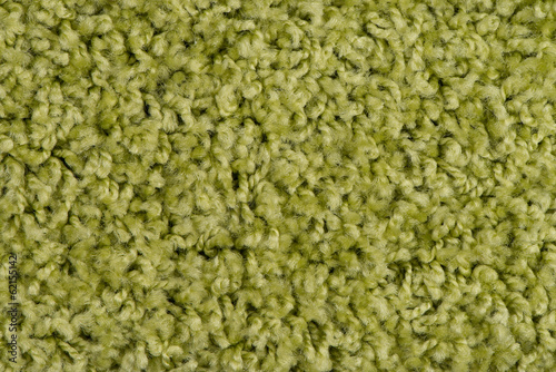 Green carpet or mat