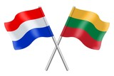 Flags: The Netherlands and Lithuania