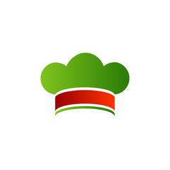 Logo for an Italian cuisine or restaurant- chef hat