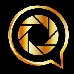 Photography logo- in alphabet Q