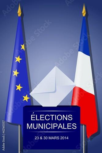 Elections municipales 23 et 30 mars 2014