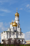 Moscow Kremlin, Ivan Velikogo's belltower in the spring