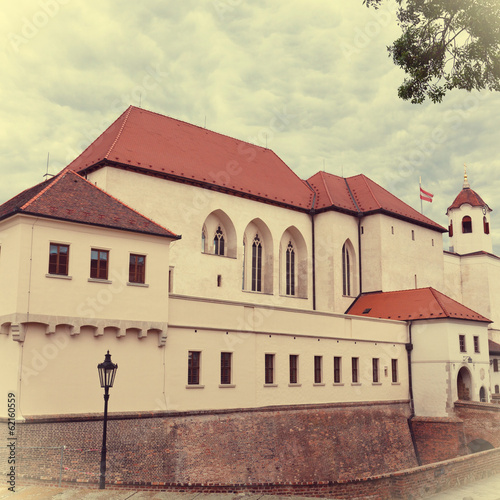 Ancient castle Spilberk, Brno, Czech Republic