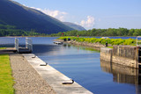 Gateway Caledonian Canal in Scotland