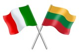 Flags: Italia and Lithuania