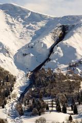 pericolo valancghe - alpine avalanche risk