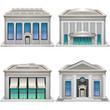 Bank buildings. - 62164923