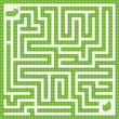 Maze game - worm and leaf