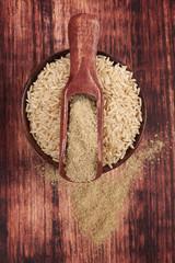 Dietary fiber.Detox concept.