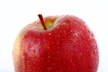 Apfel mit Stiel