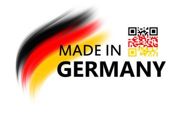 Standort Deutschland - QR-Code = Deutschland